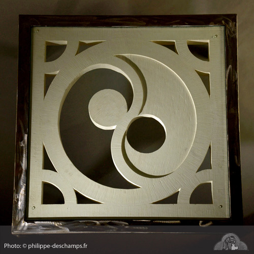 Table basse en pierre taill e yin yang sculpteur cr ateur - Table basse ying yang ...